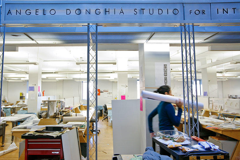 Inside the Interior Architecture Studios at the Center for Integrative Technologies