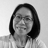 a photo portrait of RISD faculty member Liliane Wong