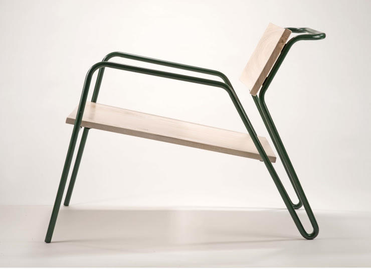 A chair by Furniture Design alum Rebecca Li