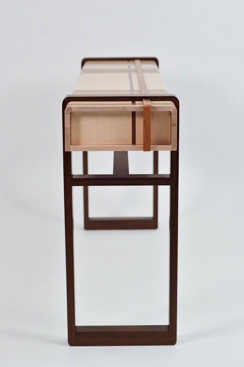A console table by Furniture Design graduate alum Todd Anderson