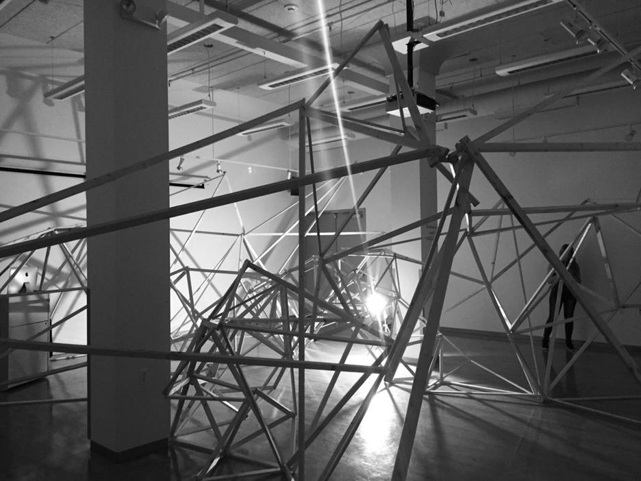 an installation by Interior Architecture graduate alum Sungkyu Yang