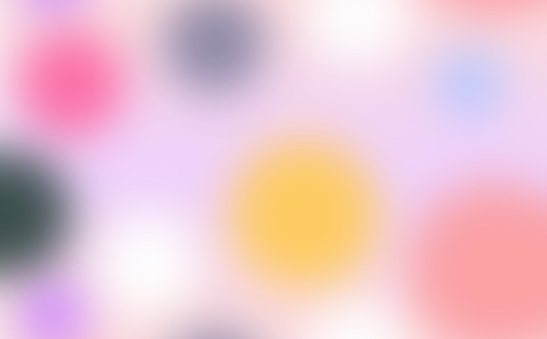 Blurred pastel colored circles
